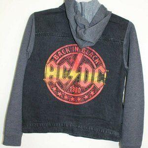 AC/DC Back in Black 1980 Denim / Knit Jacket